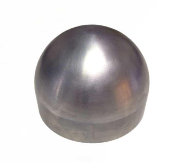 127mm 5 Inch Half Sphere Shaped Knee Form Impact Test Indenter