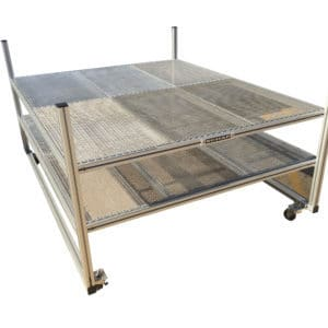 Environmental Test Chamber Specimen Cart